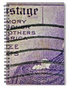 1934 Mothers Of America Three-cent Stamp Spiral Notebook