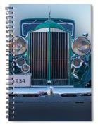 1934 Packard Super 8 Spiral Notebook