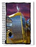 1934 Packard With  Brush Frame Spiral Notebook