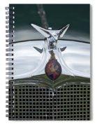 1934 Vauxhall Spiral Notebook