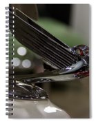 1935 Chevrolet Coupe Emblem Spiral Notebook