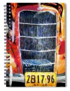 1935 Ford Coupe Spiral Notebook