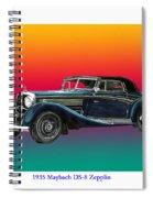 Maybach Zepplin Ds-8 Spiral Notebook