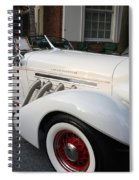 1936 Auburn Super Charger Spiral Notebook