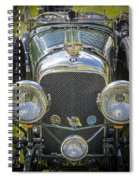1936 Bentley 4.5 Litre Lemans Rc Series Spiral Notebook