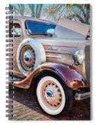 1936 Chevrolet Pick Up Truck Painted    Spiral Notebook