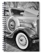 1936 Chevrolet Pick Up Truck Painted Bw   Spiral Notebook