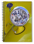 1936 Ford Pickup Headlamp Spiral Notebook