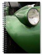 1936 Funeral Truck Headlight Spiral Notebook