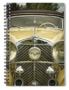 1936 Mercedes Benz Spiral Notebook
