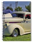 1936 Pontiac Hood Ornament Spiral Notebook