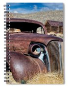 1937 Chevrolet Coupe At Bodie Spiral Notebook