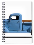 1937 Chevrolet Pickup Truck Spiral Notebook