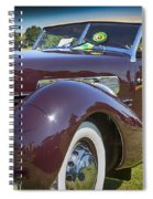 1937 Cord Phaeton Spiral Notebook