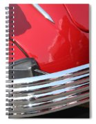 1937 Desoto Chrome Bumper-7249 Spiral Notebook