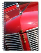 1937 Desoto Front Grill Spiral Notebook