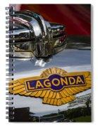 1937 Lagonda Spiral Notebook