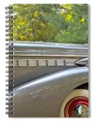 1938 Buick Special Spiral Notebook