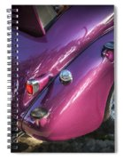 1938 Chevrolet Coupe With Rumble Seat Spiral Notebook