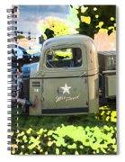 1938 Chevy Pick Up Truck Rat Rod Spiral Notebook