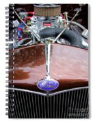 1938 Ford Roadster Spiral Notebook