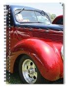 1938 Ford Two Door Sedan Spiral Notebook