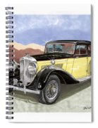 1939 Bentley Mark Four Sport Sedan Spiral Notebook