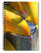 1939 Chevy Hood Spiral Notebook
