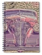 1939 Chevy Immenent Front Color Spiral Notebook