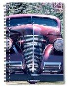 1939 Chevy Immenent Front Original Spiral Notebook