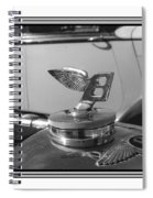 1939 M K 4 Bentley Flying B Mascot Spiral Notebook