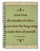 194- Groucho Marx Spiral Notebook