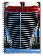 1940 Cadillac Coupe Front View Spiral Notebook
