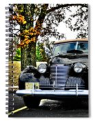 1940 Cadillac Coupe Spiral Notebook