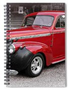 1940 Chevy Coupe Spiral Notebook