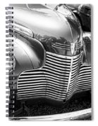 1940 Chevy Grill Spiral Notebook