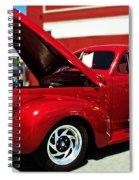 1940 Chevy Spiral Notebook