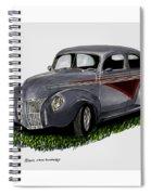 1940 Ford Custom Street Rod Spiral Notebook
