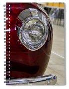 1940 Ford Front Left Light Spiral Notebook