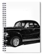 1940 Ford Restro Rod Spiral Notebook
