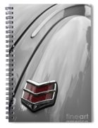 1940 Ford Taillight Spiral Notebook