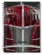 1940 Ford V8 Grill  Spiral Notebook
