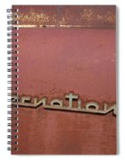 1940s Era International Harvester Truck Insignia Spiral Notebook
