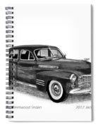 1941 Cadillac Fleetwood Sedan Spiral Notebook