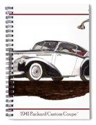 Packard Custom Coupe 120 Spiral Notebook