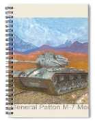 1941 W W I I Patton Tank Spiral Notebook