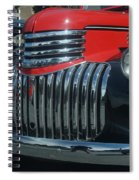 1942 Chevrolet Pickup Truck Grill   # Spiral Notebook