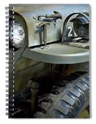 1942 Ford U.s. Army Jeep Ll Spiral Notebook