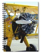 1943 Boeing Super Stearman 2 Spiral Notebook