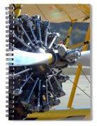 1943 Boeing Super Stearman Spiral Notebook